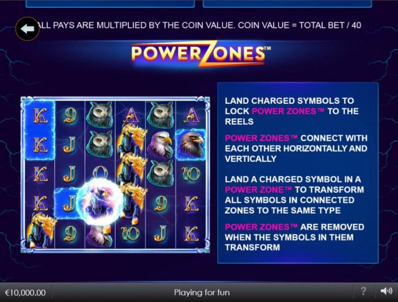 Stallion Strike :: Power Zones