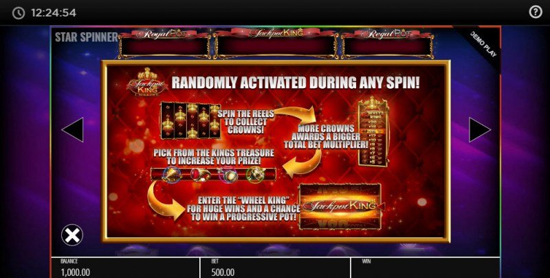 Star Spinner Jackpot King :: Jackpot King Deluxe