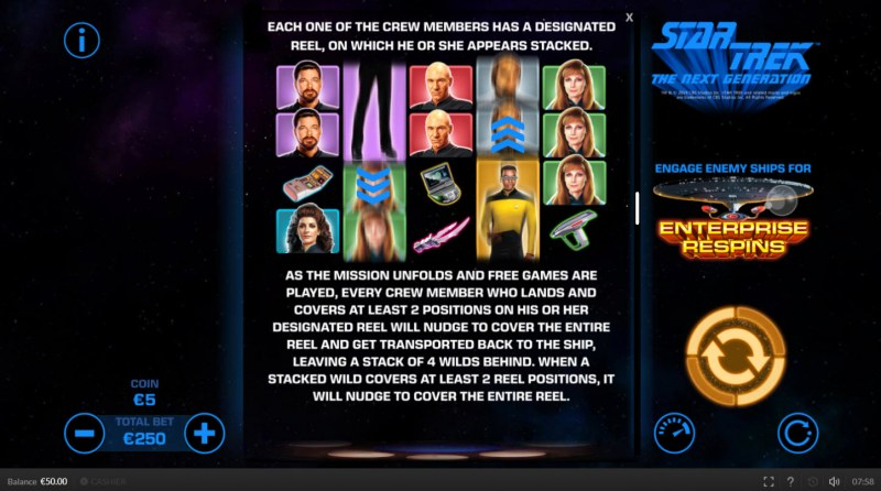 Star Trek The Next Generation :: Free Games Rules