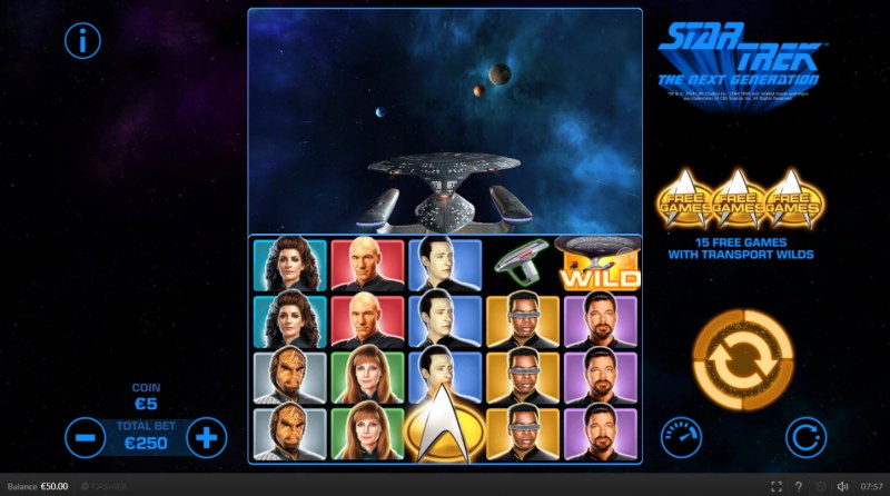 Star Trek The Next Generation :: Main Game Board