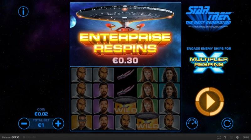 Star Trek The Next Generation :: Enterprise Respins feature triggered