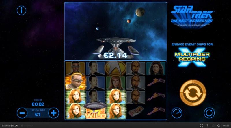 Star Trek The Next Generation :: Three of a kind