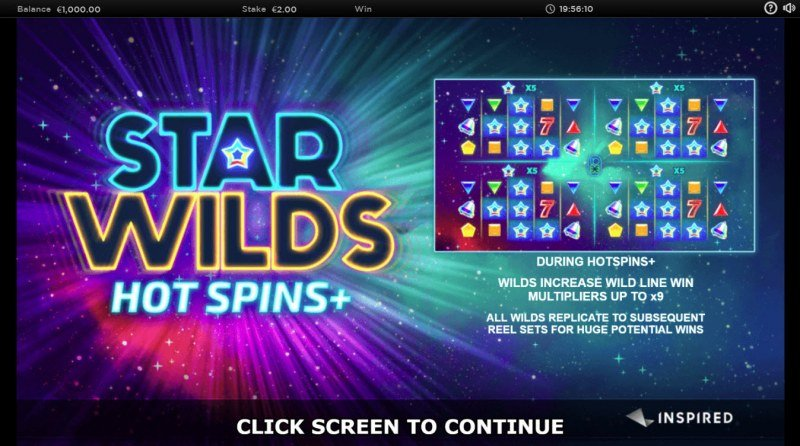 Star Wilds Hot Spins+ :: Introduction