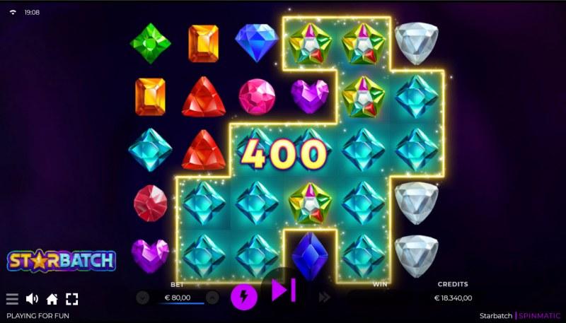 Starbatch :: Multiple winning combinations