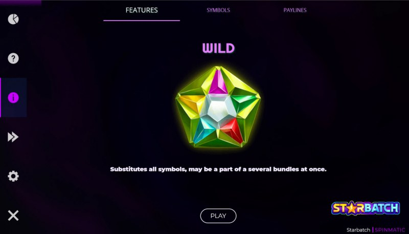 Starbatch :: Wild Symbol Rules