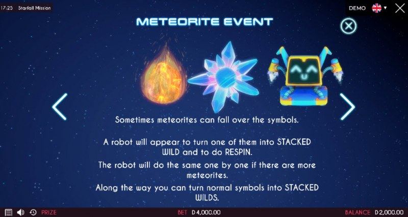 Starfall Mission :: Feature Rules