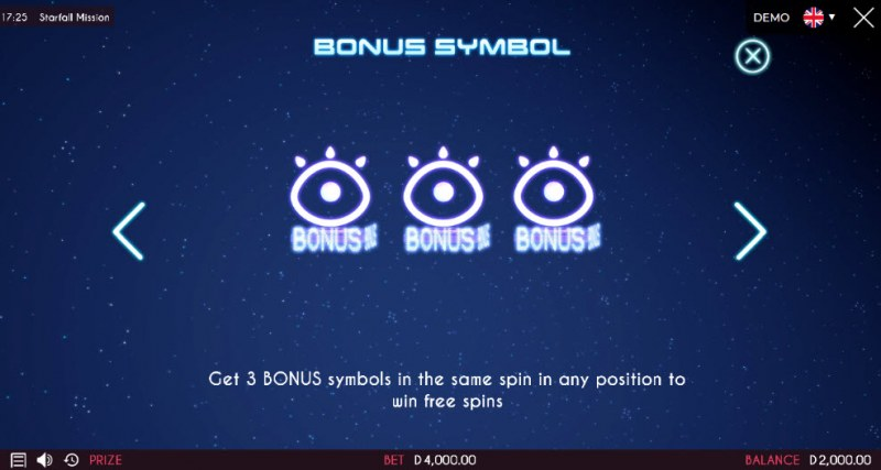 Starfall Mission :: Scatter Symbol Rules
