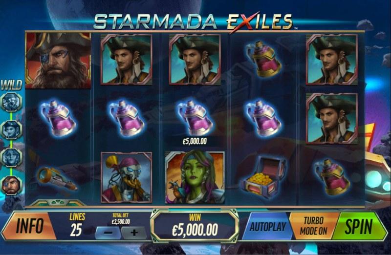 Starmada Exiles :: A four of a kind win