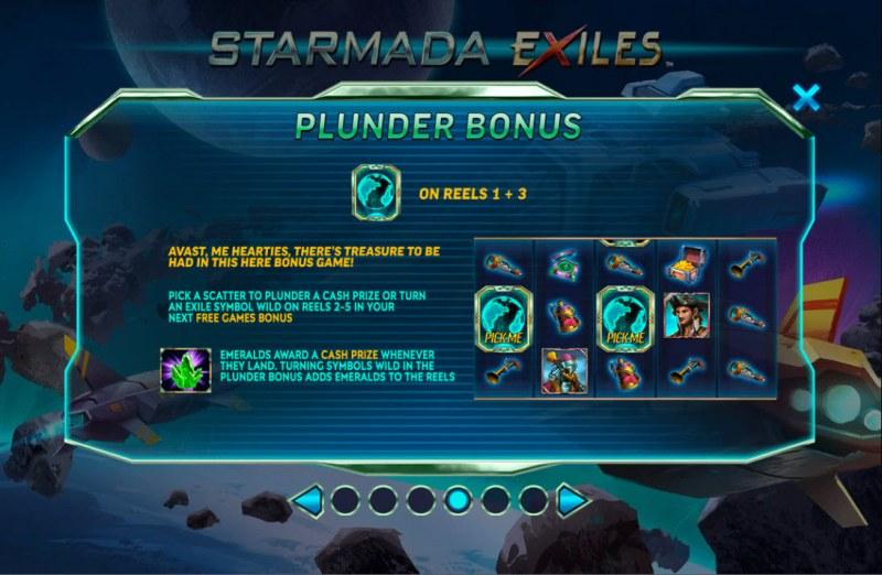 Starmada Exiles :: Plunder Bonus