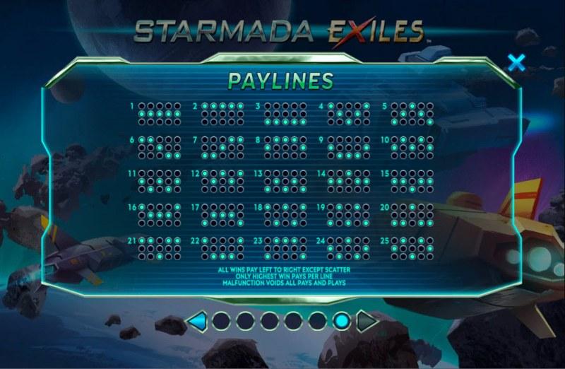 Starmada Exiles :: Paylines 1-25
