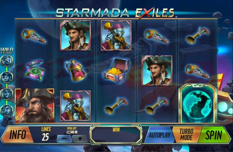 Starmada Exiles :: Main Game Board