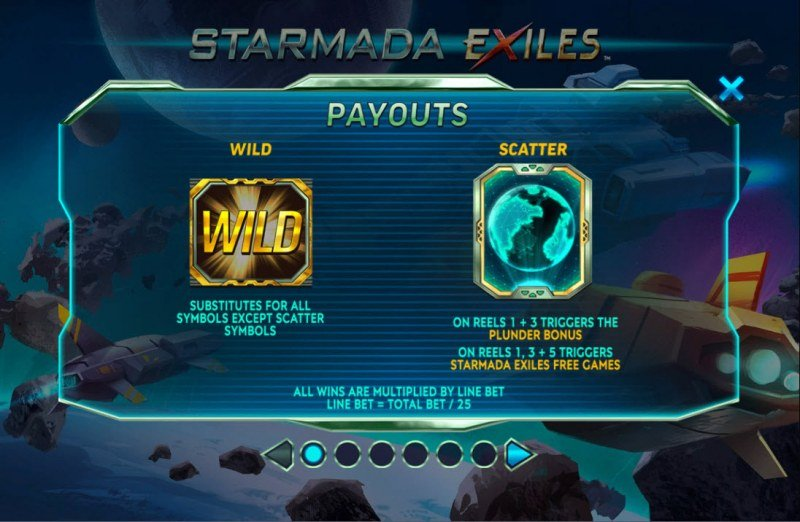 Starmada Exiles :: Wild and Scatter Rules