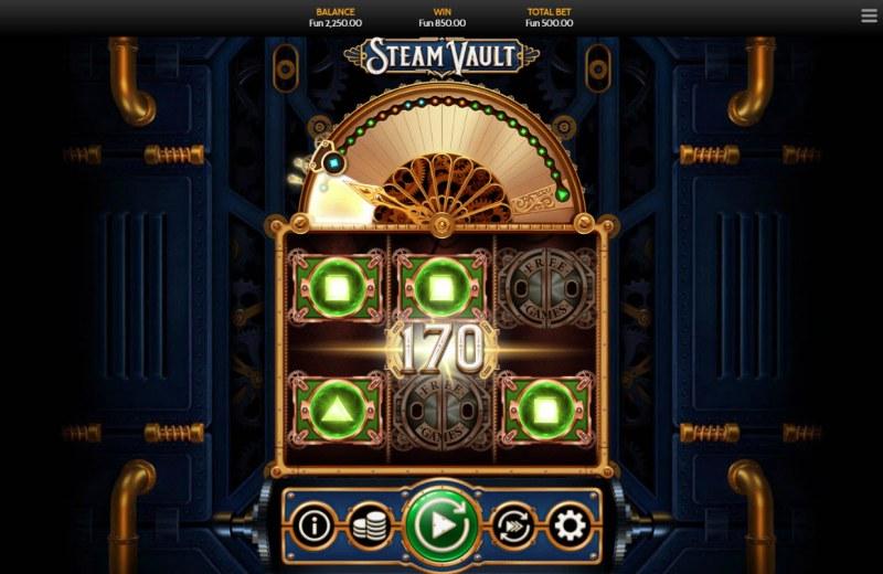 Steam Vault :: Multiple winning paylines