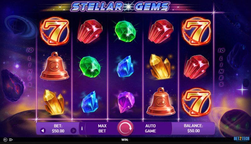 Stellar Gems :: Main Game Board