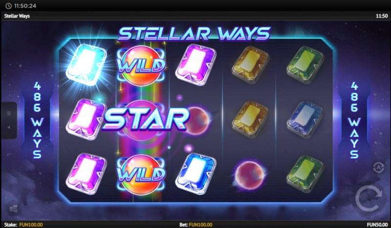 Stellar Ways :: Respin leads to multiple winning ways
