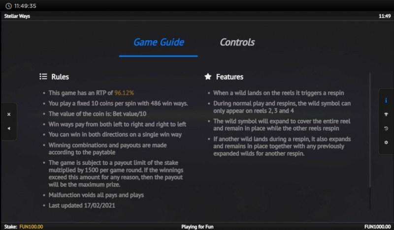 Stellar Ways :: General Game Rules