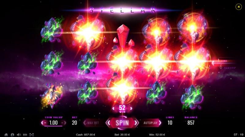 Stellar :: Multiple winning paylines
