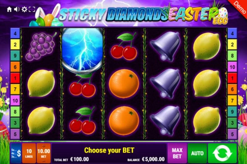 Sticky Diamonds Easter Egg :: Main Game Board