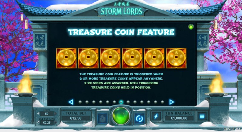 Storm Lords :: Treasure Coin Feature