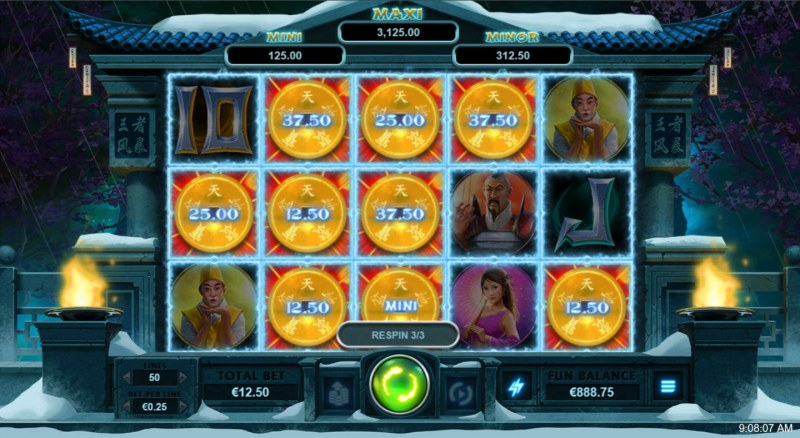 Storm Lords :: Fill the reels with coins and win big