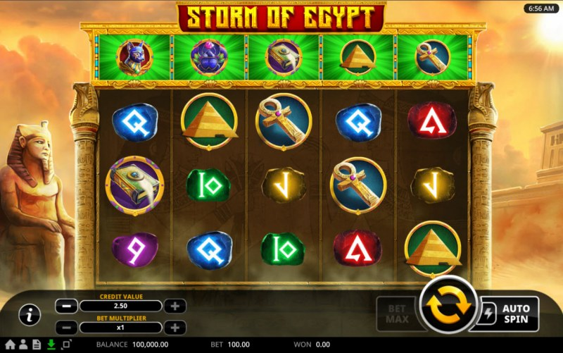 Storm of Egypt :: Main Game Board
