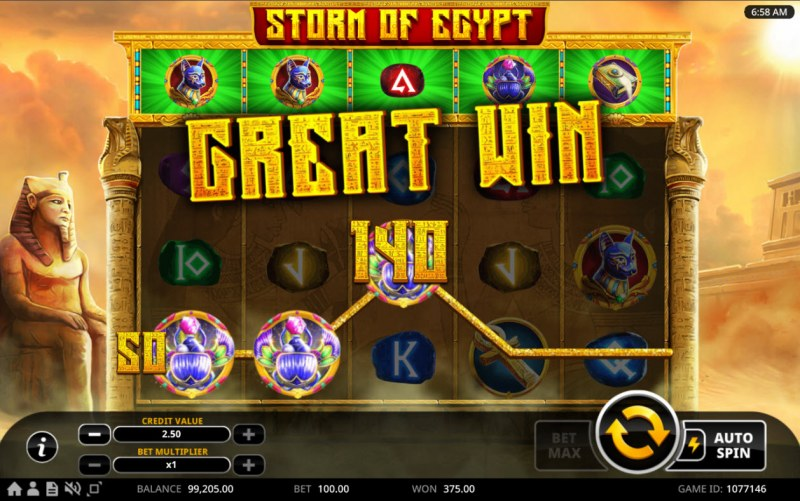 Storm of Egypt :: Great Win
