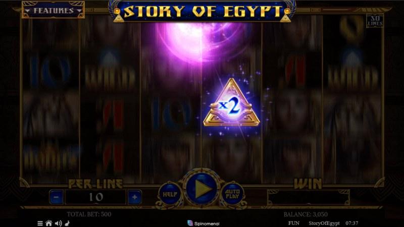 Story of Egypt :: X2 win multiplier awarded