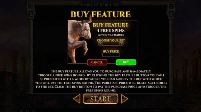 Story of Hercules :: Buy Feature
