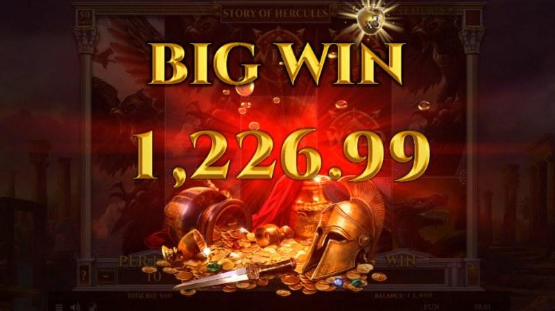 Story of Hercules :: Big Win