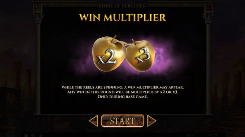 Story of Hercules :: Win Multiplier