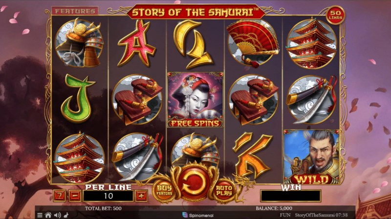 Story of the Samurai :: Main Game Board