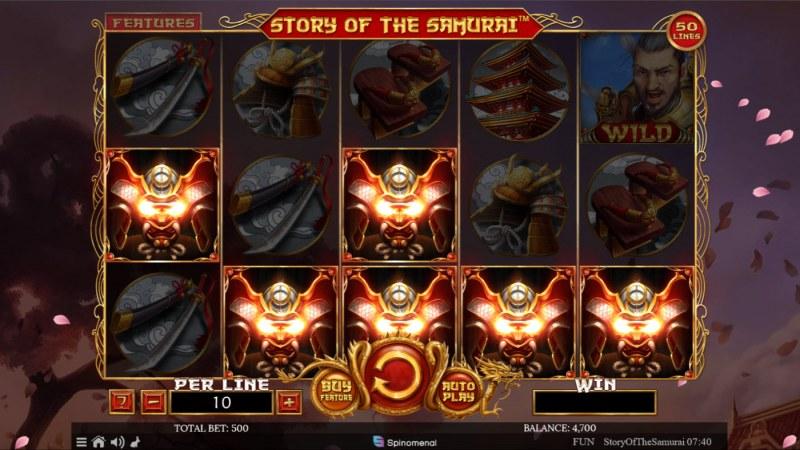 Story of the Samurai :: Mystery Win