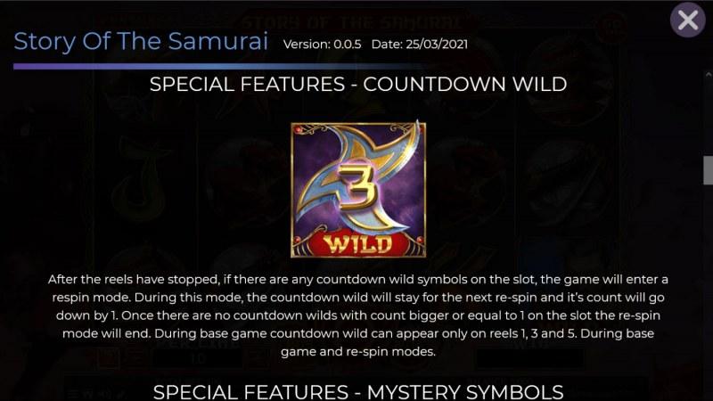 Story of the Samurai :: Countdown Wild