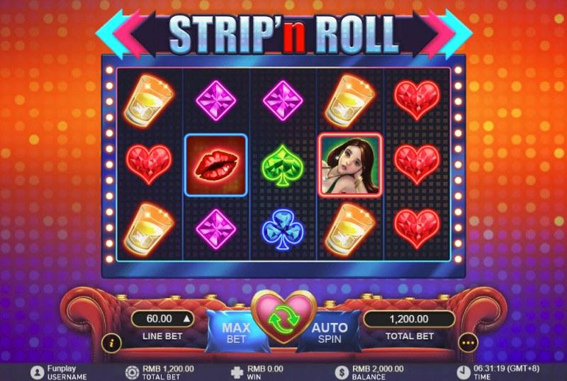 Strip 'n Roll :: Main Game Board