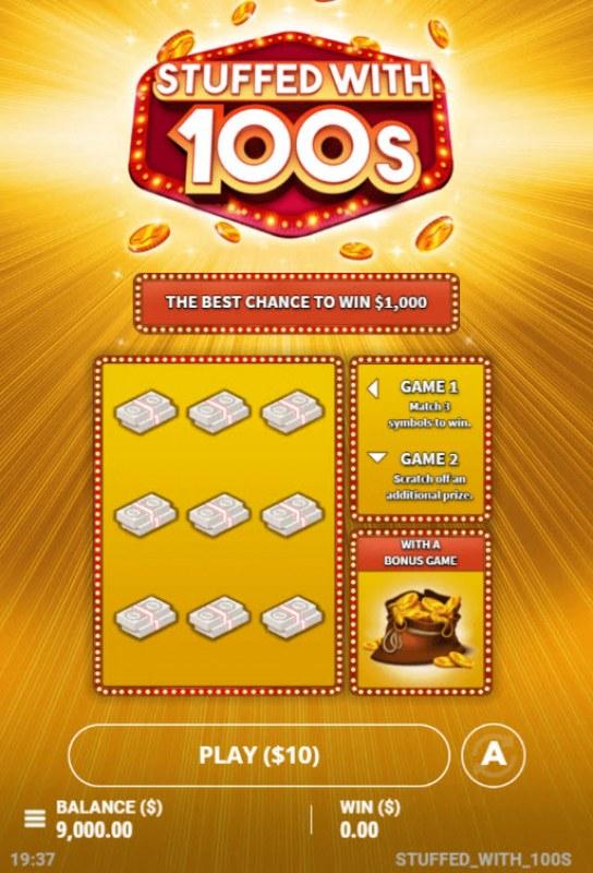 Stuffed with 100s :: Main Game Board
