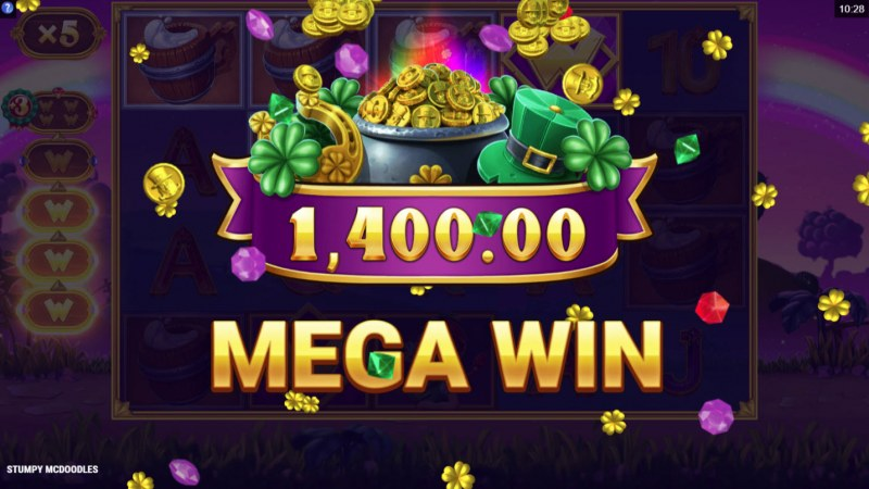 Stumpy McDoodles :: Total free spins payout