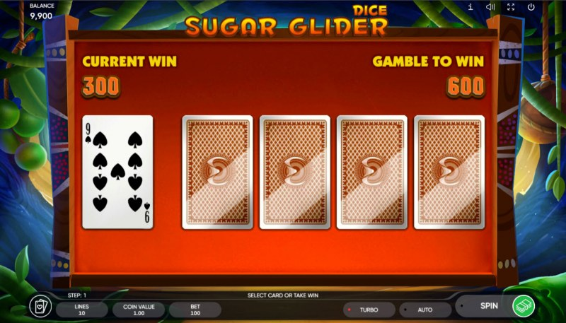 Sugar Glider Dice :: Red or Black Gamble Feature