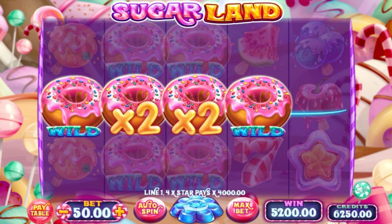Sugar Land :: Multiple winning combinations leads to a big win
