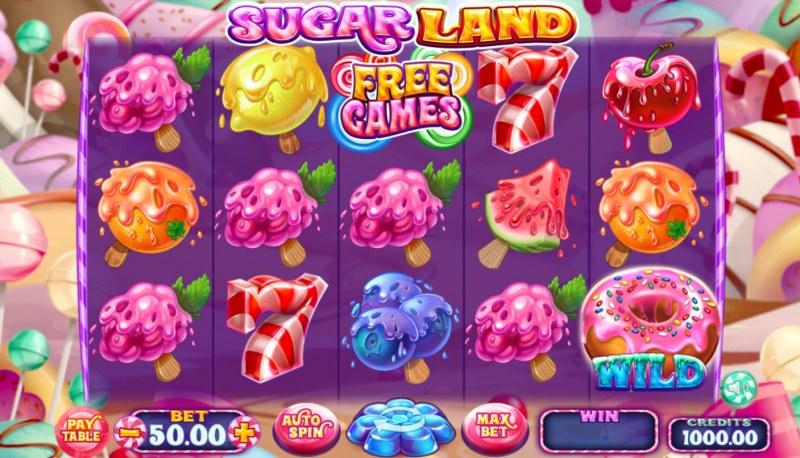 Sugar Land :: Main Game Board