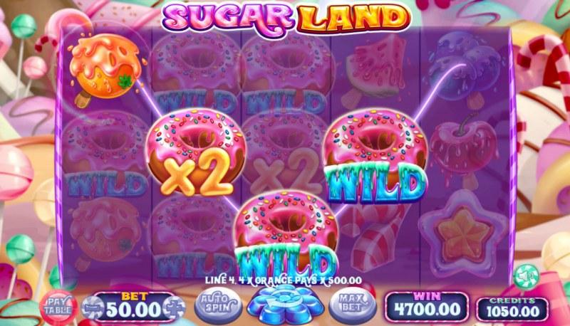 Sugar Land :: Multiple winning paylines