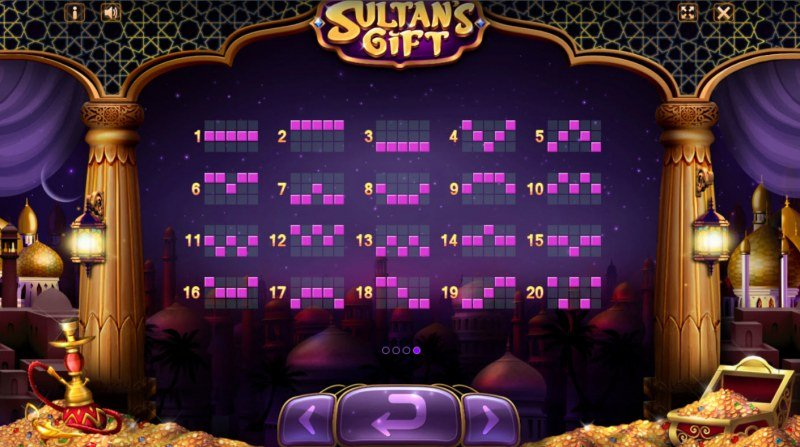 Sultan's Gift :: Paylines 1-20