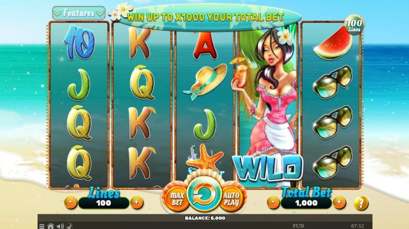 Play slots at Spintropolis: Spintropolis featuring the Video Slots Summer of Luck with a maximum payout of $1,000,000