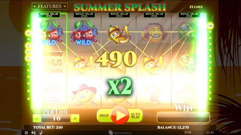 Summer Splash :: 2x Win Multiplier