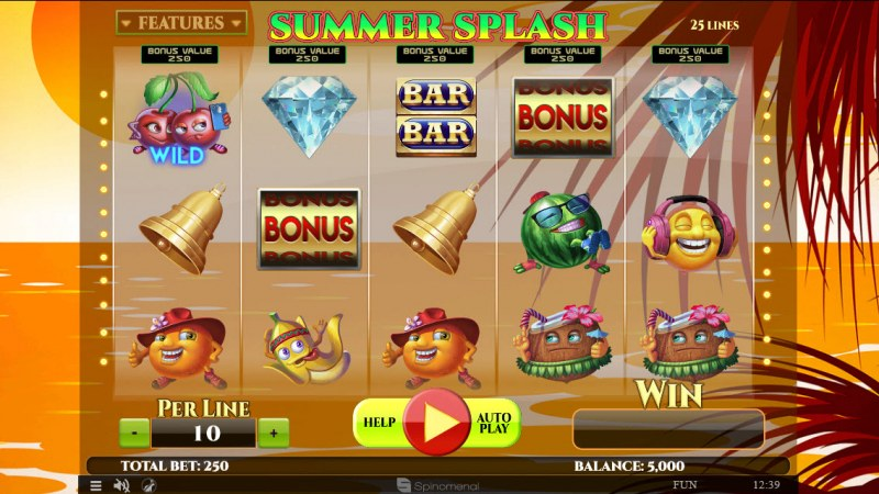 Summer Splash :: Main Game Board