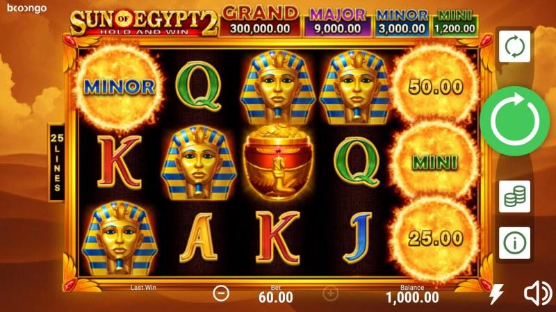 Sun of Egypt 2 :: Main Game Board