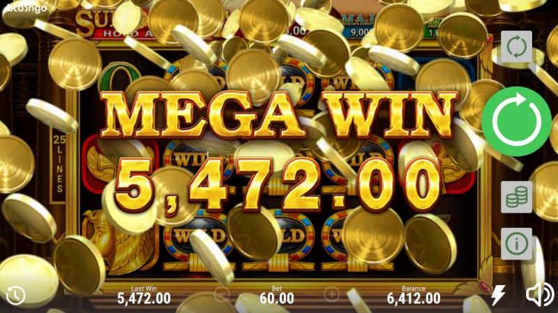 Sun of Egypt Hold and Win :: Mega Win