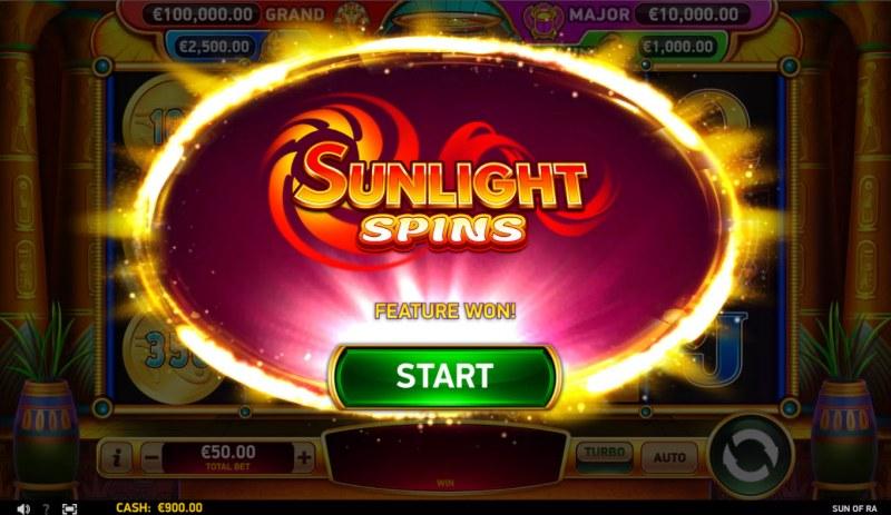 Sun of RA :: Sunlight Spins awarded