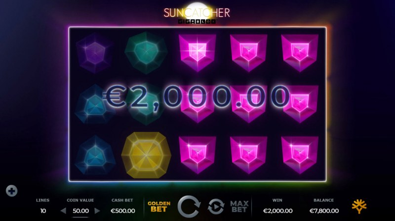Suncatcher Gigablox :: Game Pays In Both Directions