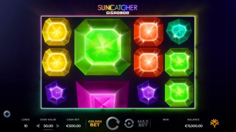 Suncatcher Gigablox :: Multiple winning paylines