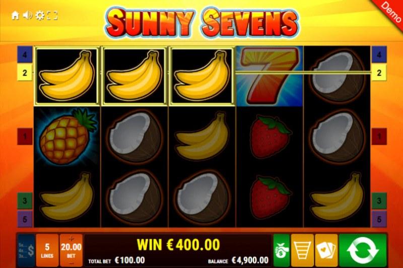 Sunny Sevens :: Three of a kind